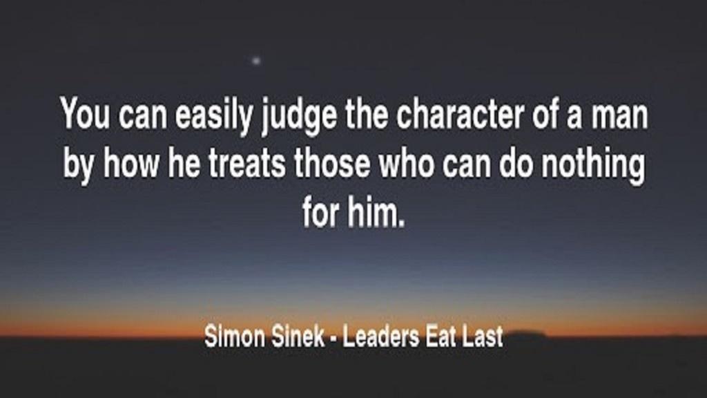 رهبران آخر از همه غذا می خورند