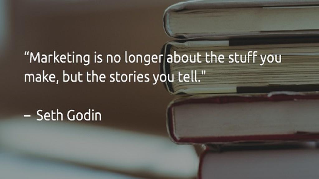 ست گادین - تمام بازاریابها دروغگو هستند، داستان تعریف می کنند